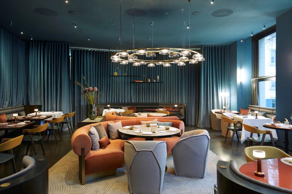 Interieur Patricia Urquiola im neuen IGNIV Zürich im Marktgasse Hotel (c) Maurice Haas res